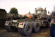 A 1980s Scammell S26 6X6 Haulage Tractor Diesel
