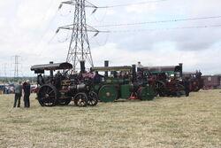 Barton Gate engine line up 2010 - IMG 7713