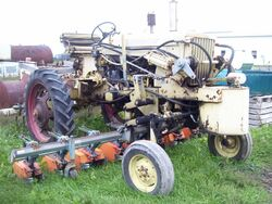 Chisholm-Ryder High Crop tractor (Farmall)