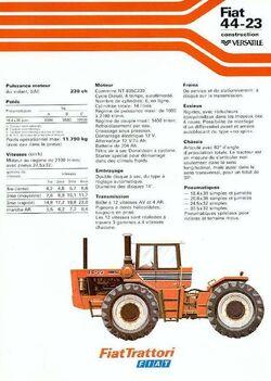 Fiat 44-23 4WD brochure