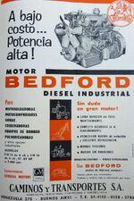 GM Bedford Diesel ad