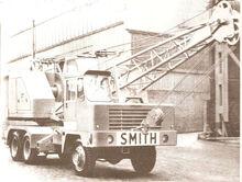 VICKERS-SMITH LT-10 6X6 Cranetruck