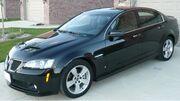 2009 Pontiac G8 GT sedan 01