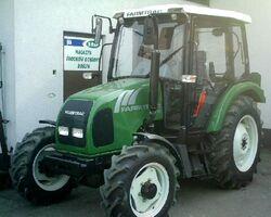 Farmtrac 555 DT MFWD (green)-2008