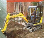 Fermec 114 excavator