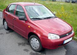 Lada Kalina 1118 Cranberry