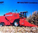 Massey Ferguson 860 combine
