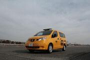 NV200 Taxi - Picture by Bertel Schmitt