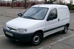 Peugeot Partner front 20080104
