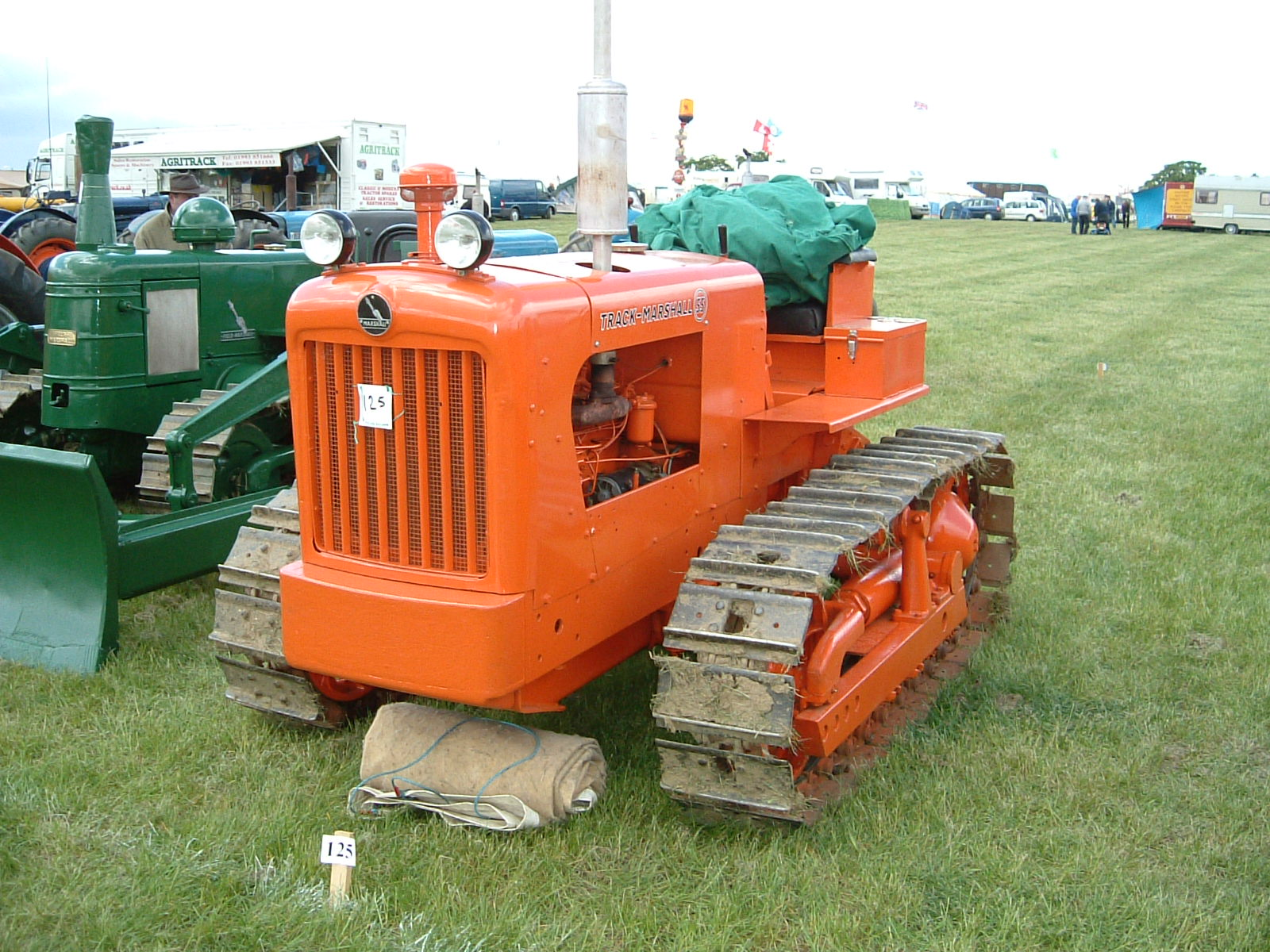 track marshall tractor construction plant wiki fandom powered rh tractors wikia com Jalin Marshall Track Marshall University Track and Field