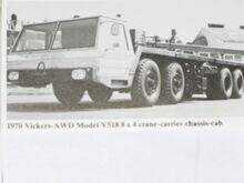 VICKERS-AWD V538 Cranecarrier