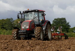 Valtra N101 tractor with Kverneland LD 100 plough