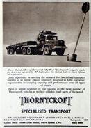 A 1960s Thornycroft Antar Haulage Tractor Petrol 6X4
