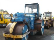 A pair of 1980s Aveling Barford DC013 Roadroller Diesel