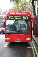 Fuel-cell bus London