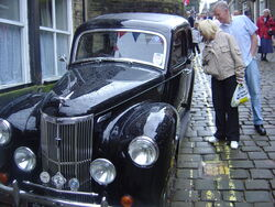 Haworth vintage car