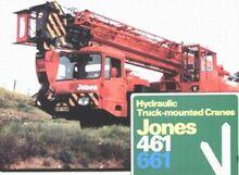 Jones 661 Vickers AWD Cranetruck