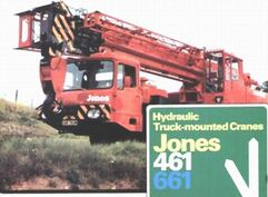 Jones 661 Vickers AWD Cranetruck