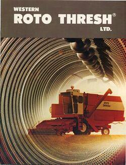 Western Roto Thresh combine brochure 2