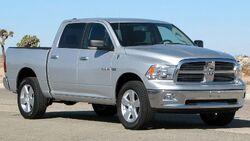 2009 Dodge RAM 1500 SLT 4-door pickup -- NHTSA 01