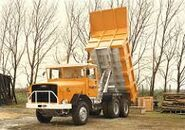 A 1960s Aveling Barford SN35 Dumptruck preserved