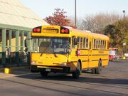First Student IC school bus 208821