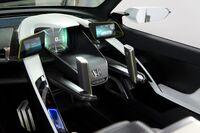 Honda EV-STER twin-lever steering 2012 Tokyo Auto Salon