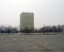 Jelcz-Laskowice, biurowiec ZS Jelcz