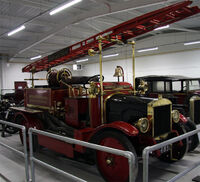 A 1920s GUY Merryweather Fire Engine preserved