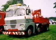 A 1970s Scammell Trunker Heavy Wrecker