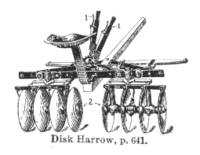 Diskharrow