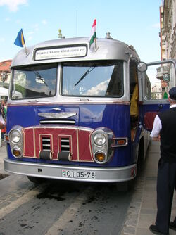 Ikarus 31, front, 2