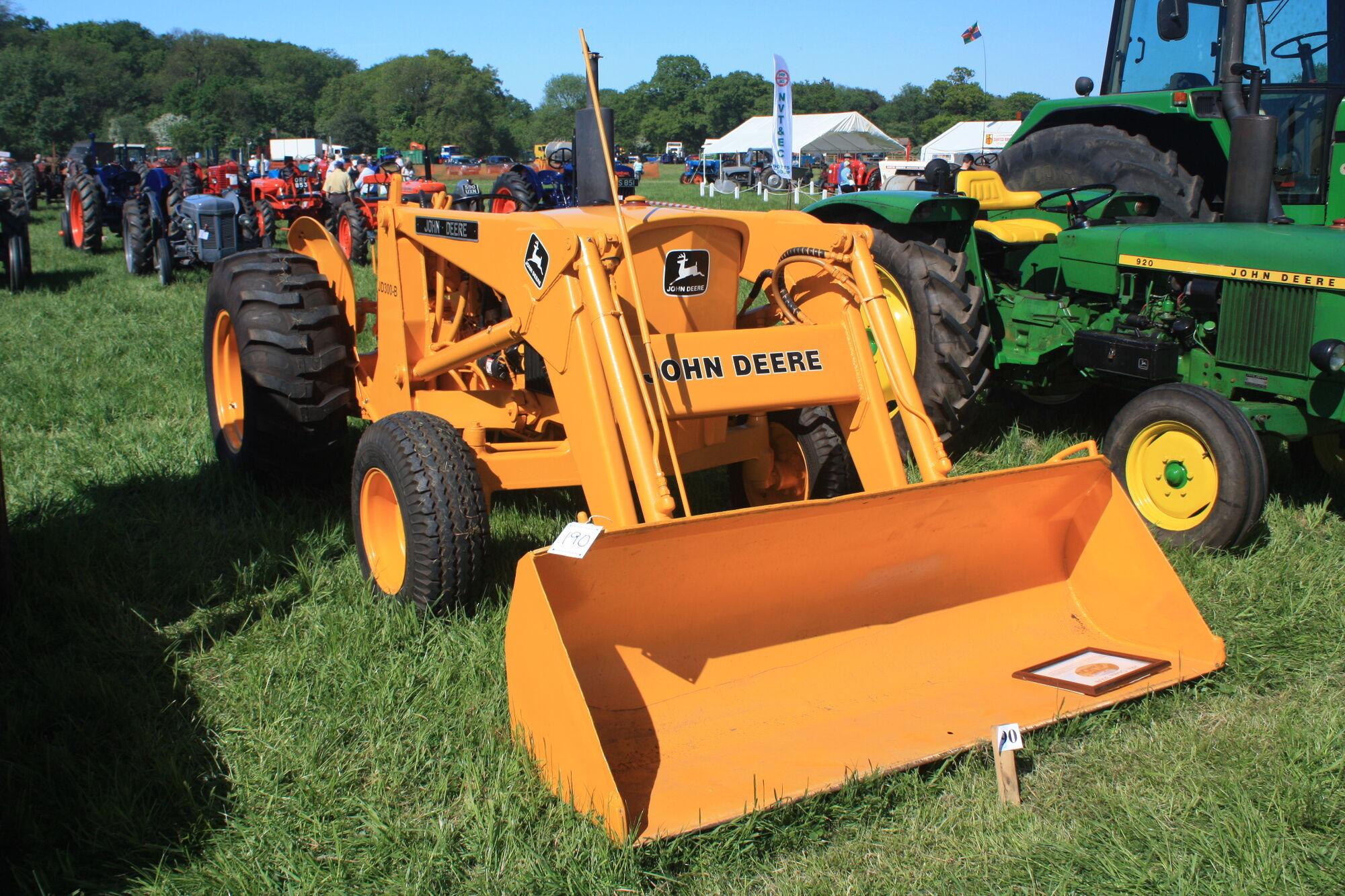 John Deere 300-B | Tractor & Construction Plant Wiki