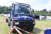 Modern Unimog in the UK - AE54 GWN at Belvoir 2011 - IMG 3508