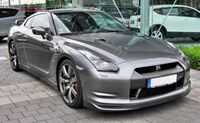 Nissan GT-R 20090620 front