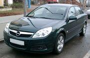 Opel Vectra front 20080116