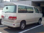 Toyota-Regius-1st 1999-rear