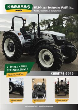 Karatas 6549 MFWD brochure (silver) - 2018