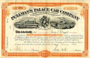 Pullman's Palace Car Co. Stock 1884