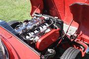 Triumph Herald engine bay - Wollaton park 2011 - IMG 0731