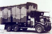 A 1920s Thornycroft Tartar Armytruck 6X4