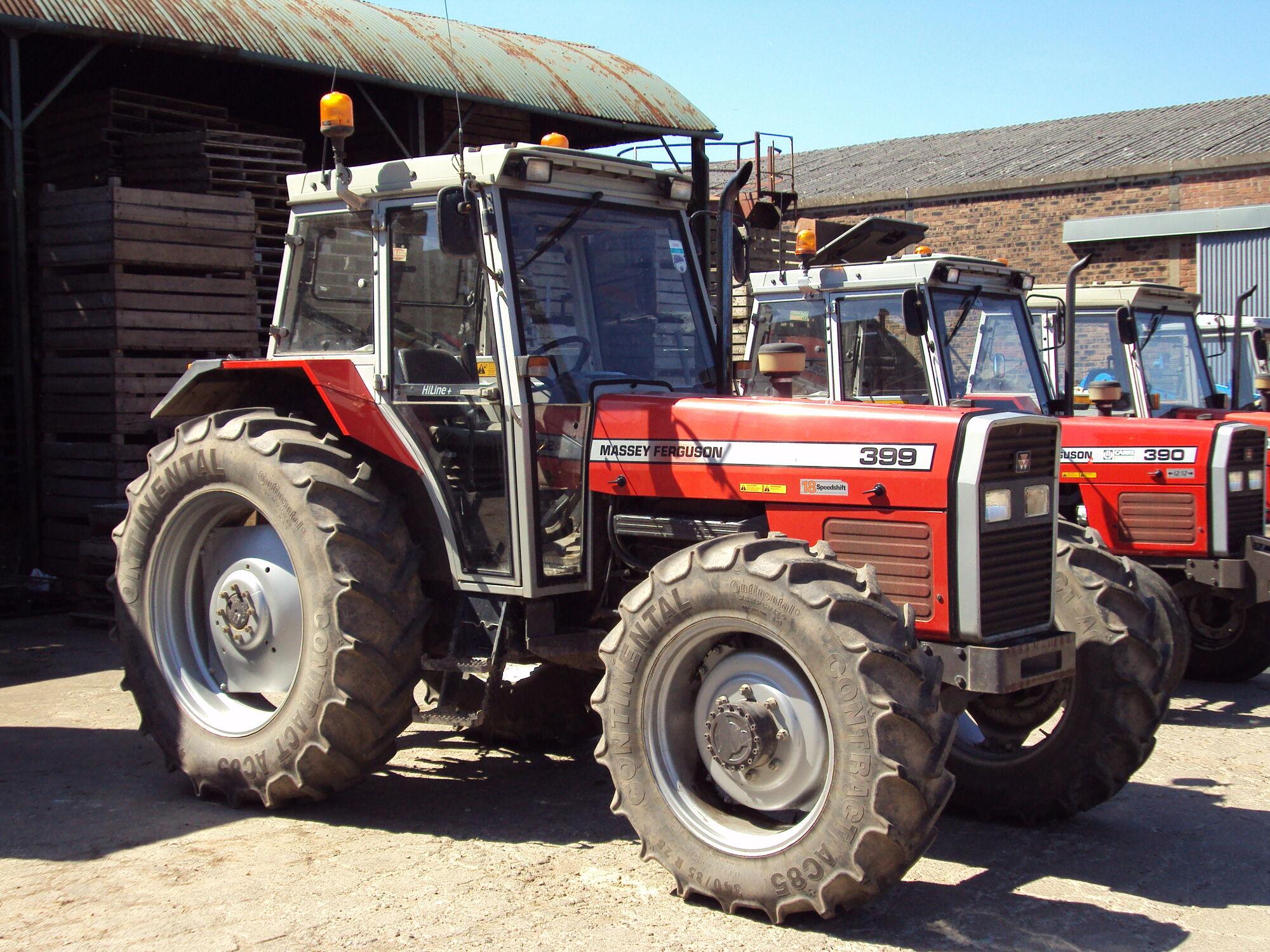 Massey Ferguson 399 | Tractor & Construction Plant Wiki