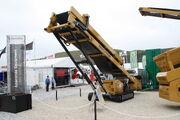 Anaconda mobile stockpile conveyor at Hillhead 2010 - IMG 1715