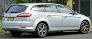 2009-2010 Ford Mondeo (MB) Zetec station wagon 01