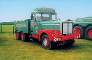 A 1950s Rotinoff Atkinson Tractor Diesel GR7 6X4 owned by Sunters Limited