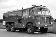 A 1960s Thornycroft Nubian Merryweather Firetender 6X6