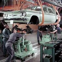 Corvair Assembly line-1960