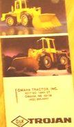 Trojan wheel loader (O&K) brochure