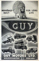 A 1950s GUY MOTORS Original Model Range Catalogue