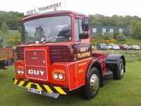 A 1980s GUY Big J4 Haulage tractor